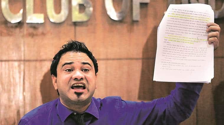 Kafeel Khan arrested Mumbai, CAA NRC protest Kafeel Khan, AMU Kafeel Khan speech, indian express news