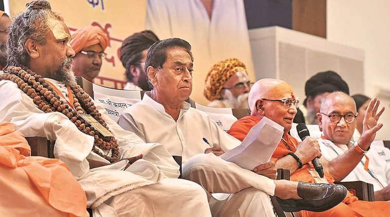 Madhya Pradesh, Madhya Pradesh sant sammelan, Madhya Pradesh congress, Kamal Nath, Madhya Pradesh BJP