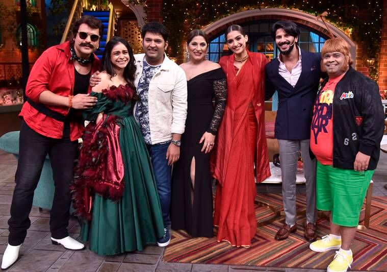 Sonam Kapoor on kapil sharma show