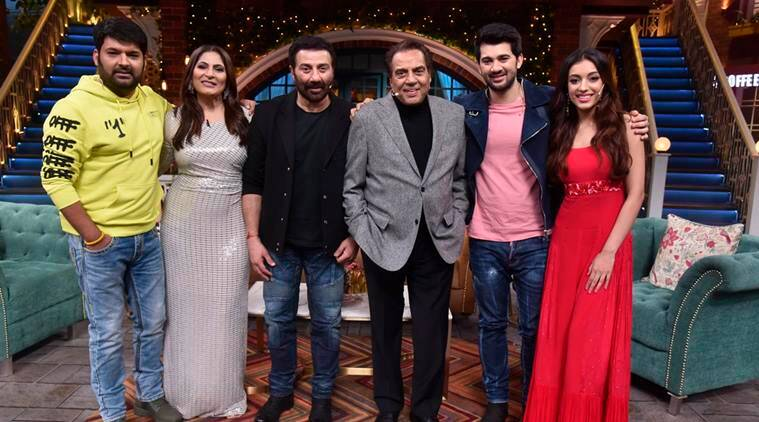 The Kapil Sharma Show preview: Dharmendra, Sunny Deol promote Pal Pal Dil Ke Paas