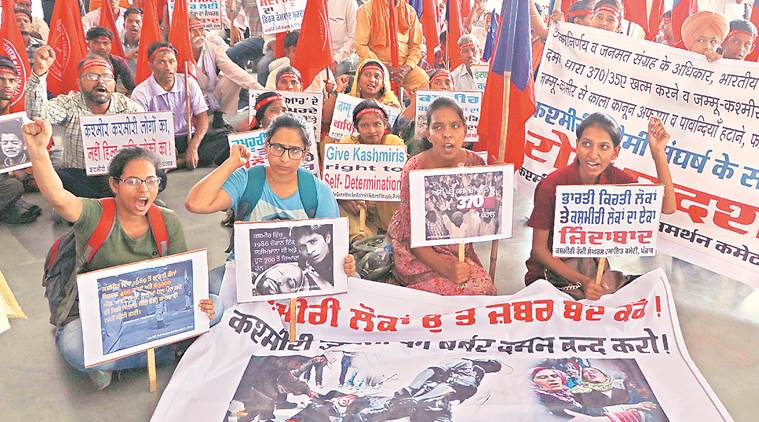 Chandigarh: Measures to silence Kashmiris 'punitive', say activists