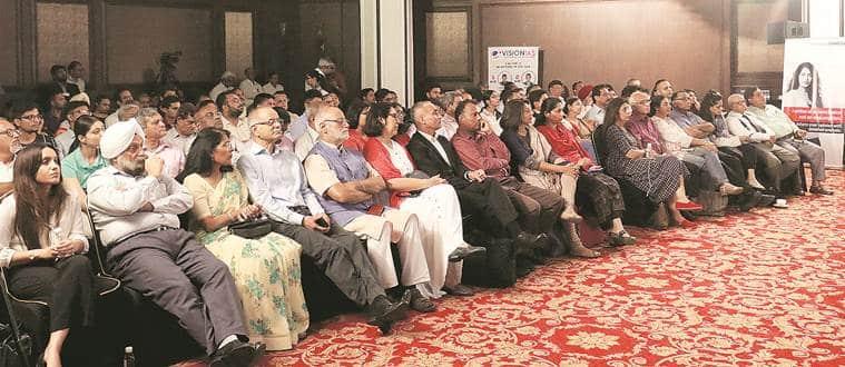 dr aman hingorani, lawyer, express explained, jammu and kashmir explained, jammu and kashmir bifurcation, article 370, kashmir explained, express explained event on kashmir, dr aman hingorani at express explained, indian express