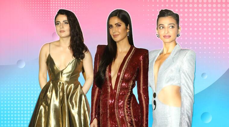 IIFA Rocks 2019: Katrina Kaif, Radhika Apte, Radhika Madan attend the event
