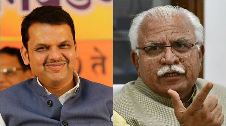 How parties fared in haryana and maharashtra assembly polls in 2014