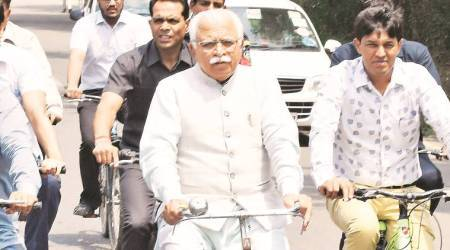 Haryana assembly polls, Haryana assembly election dates, Manohar lal khattar, Haryana chief minister, Haryana bjp, Haryana bjp seats, indian express
