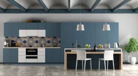 navratri, navratra, festive kitchen decor, home decor, indianexpress, interiors, indianexpress.com, funky colours, which colour to put on kitchen walls,