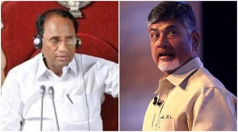 Chandrababu Naidu demands CBI probe into alleged sucide of former Andhra speaker