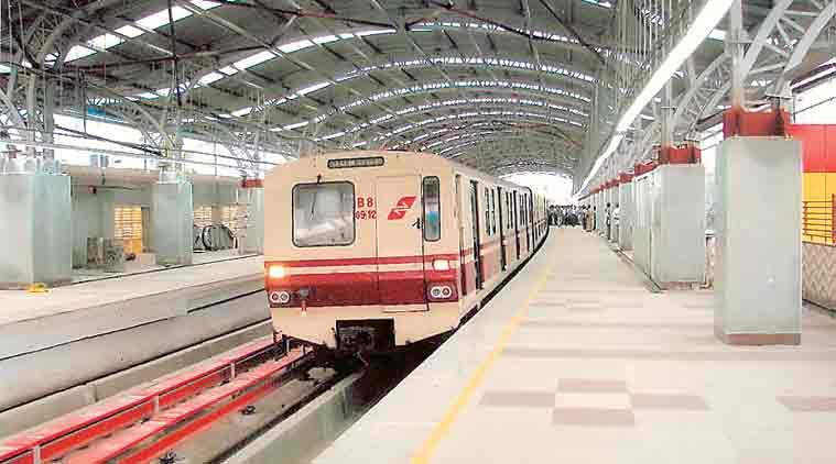 Kolkata Metro, Kolkata Metro east west corridor, Kolkata Metro Rail Corporation, Kolkata Bowbazar area, kolkata news