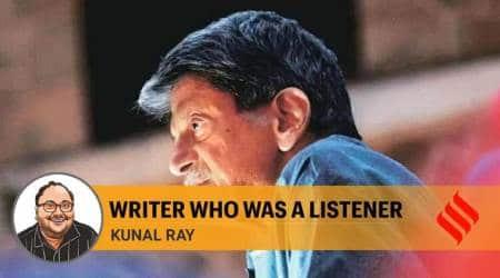 kiran nagarkar, kiran nagarkar dead, mumbai writer death, indian express, nagarkar passes away, indian express