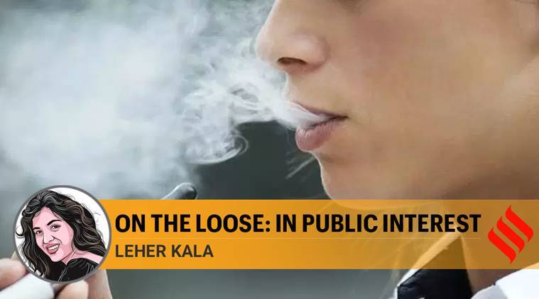 e cigarettes ban in india, e cigarettes and vaping, smoking, cigarettes, indian government, tobacco usage in india, us lung illnes, indian express news