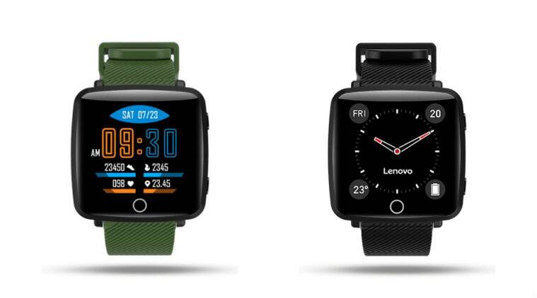 Lenovo carme hw25p smartwatch with coloured display launched at rs 3499