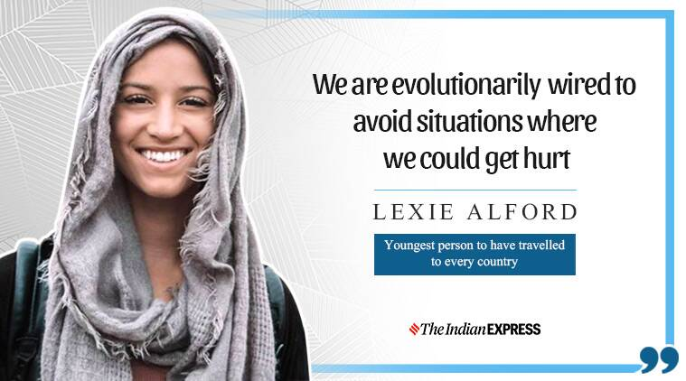 lexie alford, life positive, indian express, indian express news