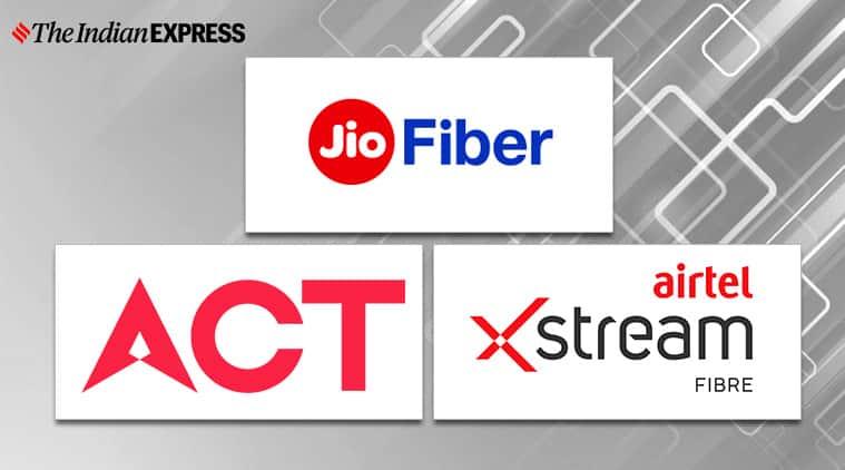 Airtel Xstream Fibre vs Reliance Jio Fiber vs ACT Fibernet: 1Gbps plans compared