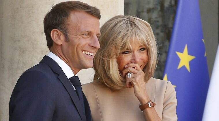 French First Lady Brigitte Macron To Go Back To Teaching World News The Indian Express