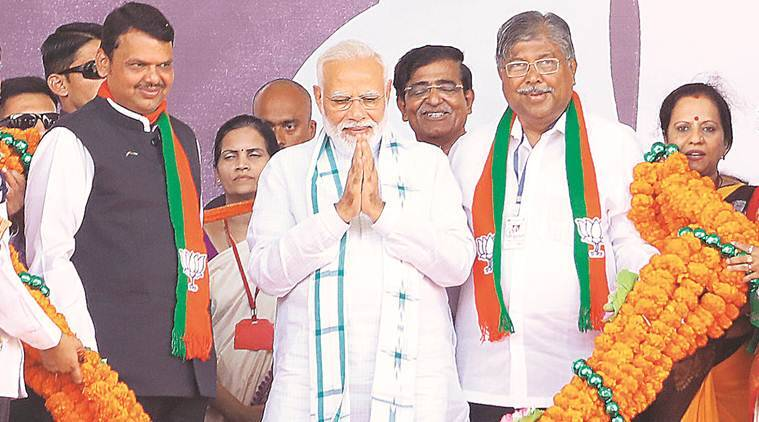 Maharashtra bjp sena in supremacy battle as oppn fights for survival