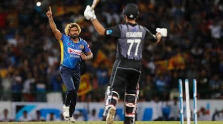 Lasith Malinga, Lasith Malinga most T20I wickets, Lasith Malinga T20I record, Lasith Malinga breaks record, Shahid Afridi, Sri lanka vs New Zealand 1st T20I, New Zealand vs Sri Lanka 1st T20I, SL vs NZ 1st T20I, NZ vs SL 1st T20I