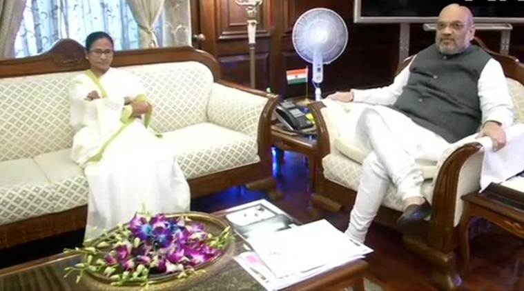 In meeting with Amit Shah, Mamata reiterates: Don't want NRC in Bengal