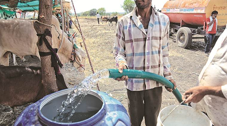 Water Crisis in Marathwada: Over 4,000 new wells to be sunk - The Indian Express