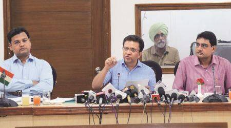 haryana asssembly polls, haryana election dates, haryana election mcc, model code of conduct, Haryana election commissioner, indian express