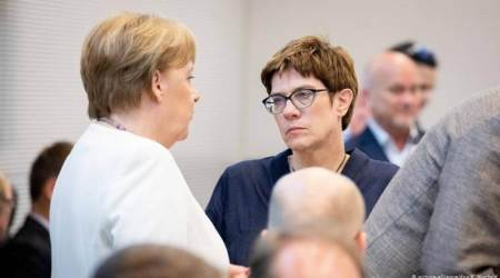 Germany: 'No rift' between Chancellor Merkel and likely successor
