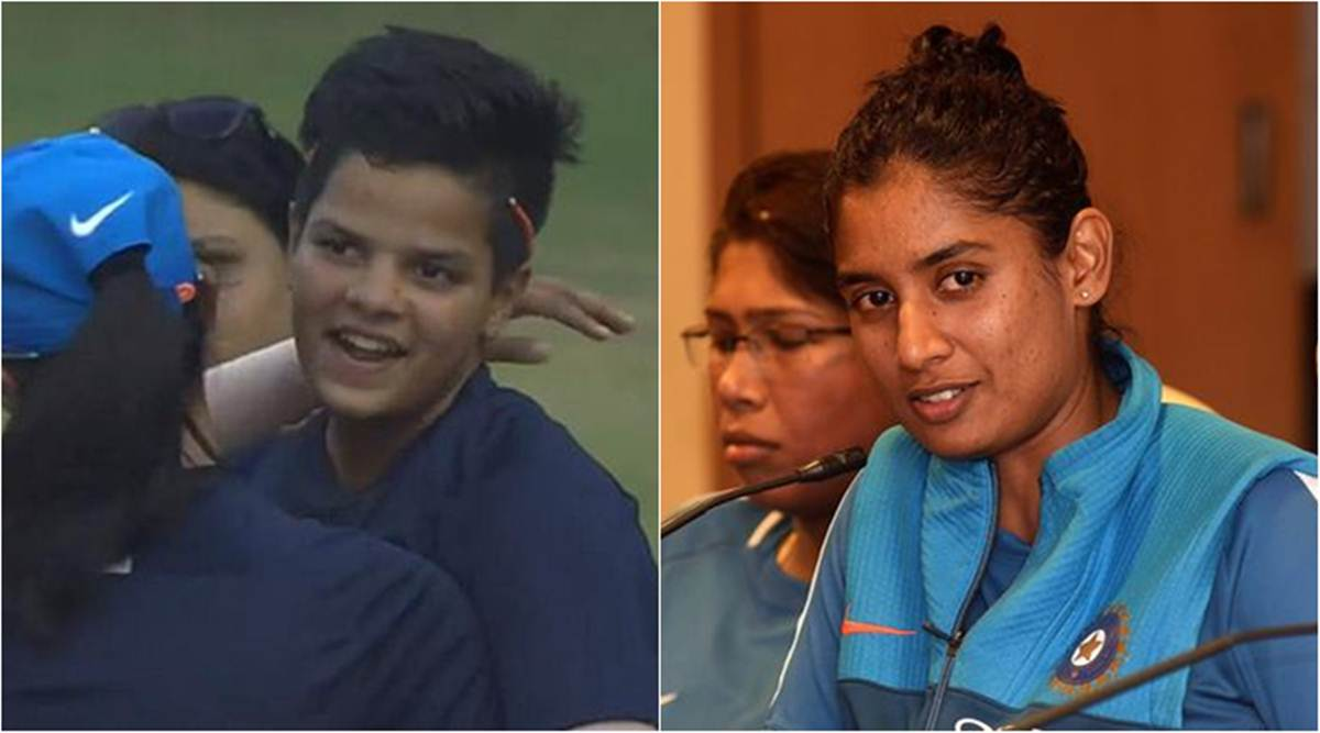 Mithali Raj, Shafali Verma, Mithali Raj interview, Shafali Verma debut, Shafali Verma T20I debut, cricket news