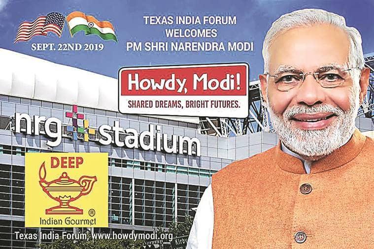 Howdy Modi, PM Narendra Modi us visit, PM Narendra Modi houston event, Howdy modi event, Modi in us, Modi houston event, Modi Trump meeting