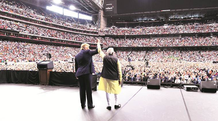 Prime Minister Narendra Modi, modi in us, pm modi, Howdy Modi Event, President Donald Trump, Trump Modi, narendra modi, modi event today, modi us event, howdy modi event, howdy modi, howdy modi event Houston, howdy modi houston