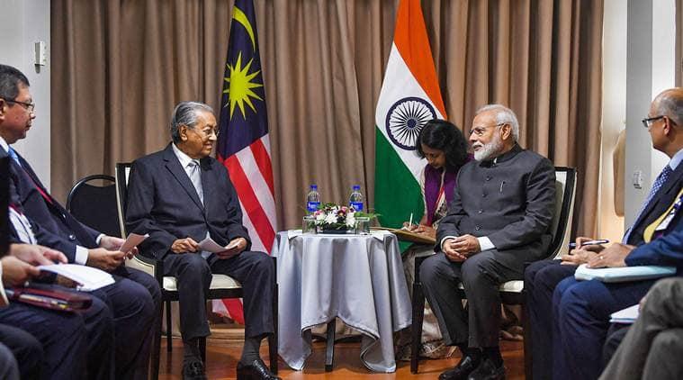 Zakir Naik extradition, Zakir Naik, extradition of Zakir Naik, Zakir Naik case,  Prime Minister Narendra Modi, Prime Minister Mahathir Mohamad, Mahathir Bin Mohamad, zakir naik malaysia, India news, Indian Express