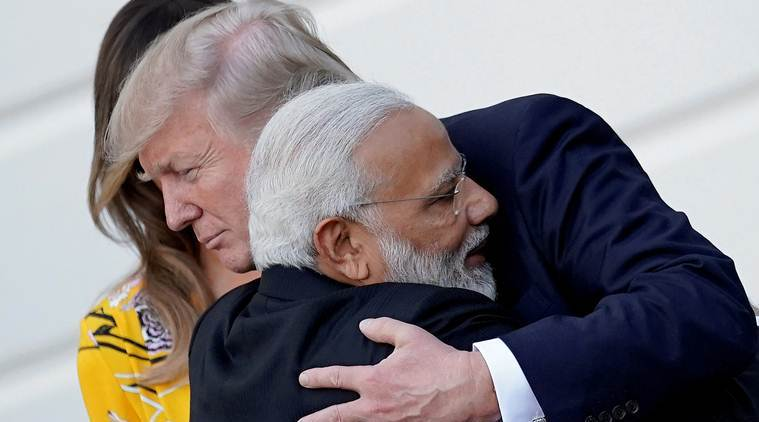 Narendra Modi, PM Modi, PM Modi in US, Modi in US, Howdy Modi, Howdy Modi event, Howdy Modi mega rally, Donald Trump, US President Donald Trump, United Nations General Assembly, UNGA, India at UNGA, climate change, India news, Indian Express