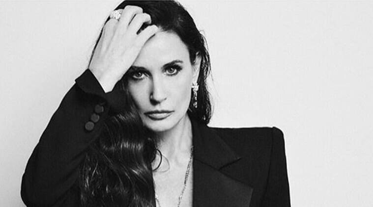 Demi Moore Shares Photo Of Baby Bump Before Miscarriage With Ashton Kutcher