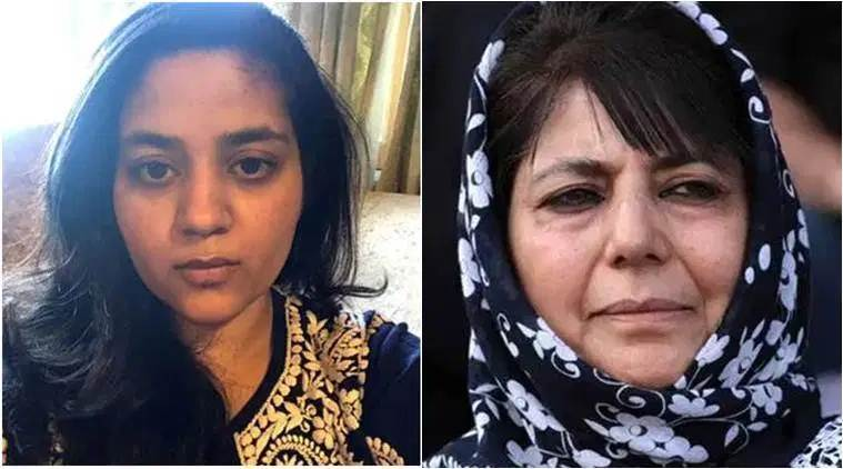 Iltija Mufti, Mehbooba mufti daughter, Jammu Kashmir news, Kashmir lockdown, Kashmir arrests detention, Kashmir article 370, Mehbooba Mufti PDP house arrest, indian express news