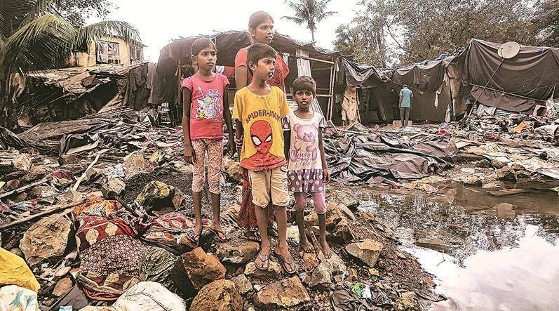 Mumbai, Mumbai news, Mahul, mahul resettlement, Mumbai colonies, Pollution, resettlement colony, Kurar, maharashtra industries. industrial pollution, Indian Express