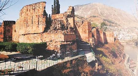 Pok monuments, heritage sites in Pok, Mughal Monuments, cultural heritage pok, pakistani archeologists, indian express