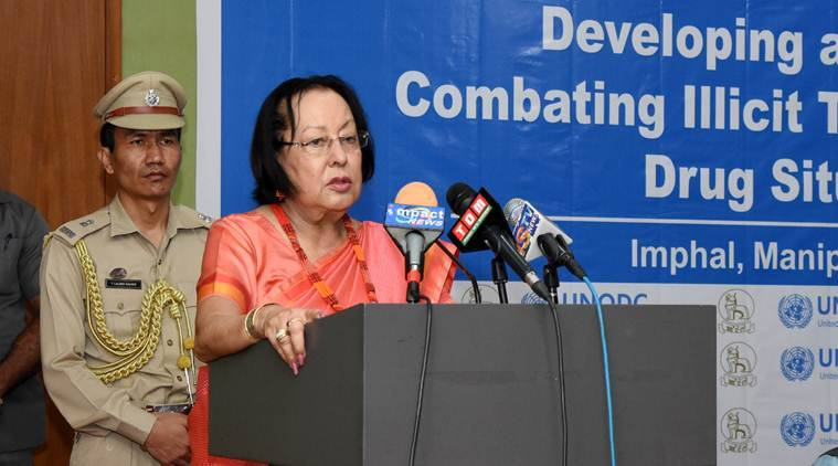 Manipur: Cooperation with neighbouring countries crucial in countering drug menace, says Governor Heptulla