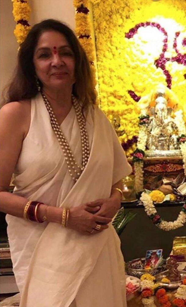 ganesh chaturthi, neena gupta, shilpa, shetty, sonali bendre ganesh chaturthi celebrations, indian express, indian express news