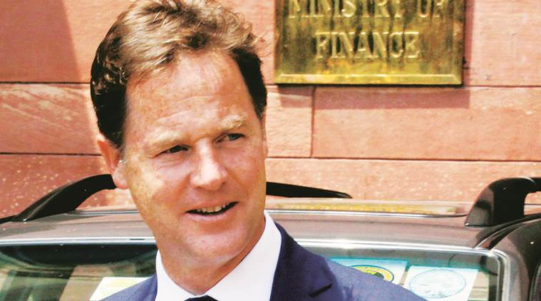 Nick Clegg guest at Express Adda today, who is nick clegg, Nick Clegg, Express Adda today, Express Adda guest, Express Adda guest nick clegg