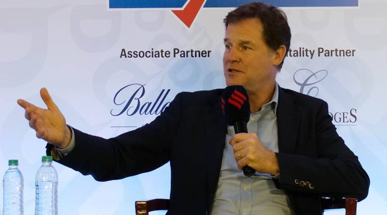 nick clegg, nick clegg indian express interview, china internet, internet usage in india, internet usage in US, express adda