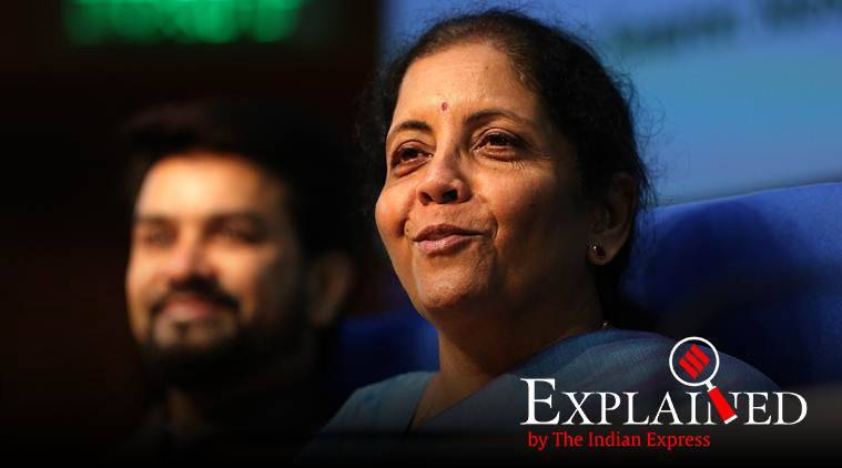 corporate tax cut, corporate tax rate cut, cuts on corporate tax rate, corporate tax rate cut, nirmala sitharaman corporate tax cut, india economic slowdown, indian economy, indian express