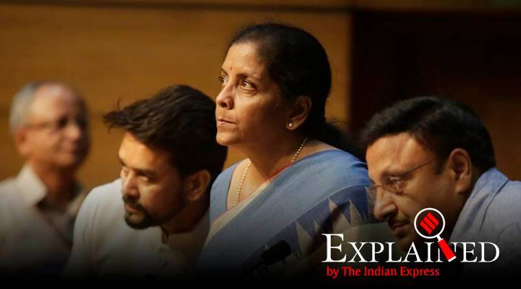 corporate tax, corporate tax cut, nirmala sitharaman, finance minister, corporate tax cut explained, express explained, economic slowdown, indian express