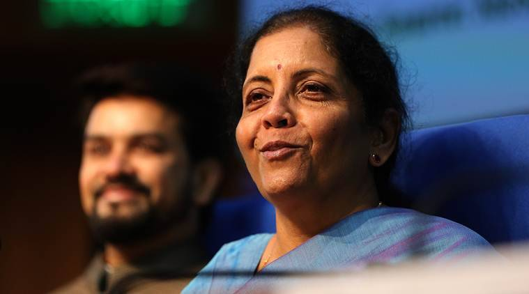 GST cut, GST rate cut, Nirmala Sitharaman, Finance Minister, Goods and Services Tax, GST tax, GST tax rate, current GST tax rates, corporate tax rate cut, cut on corporate tax rates, Business news, Indian Express