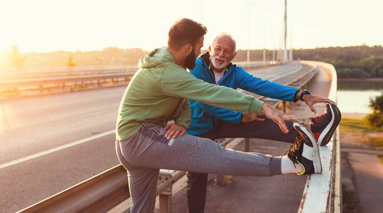 old age health, old age athletes, middle age athletes, can middle age people run