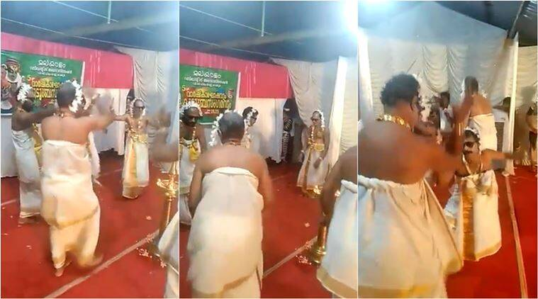 Watch: Group of Kerala men donning gajra and mundu for dance performance is hit online