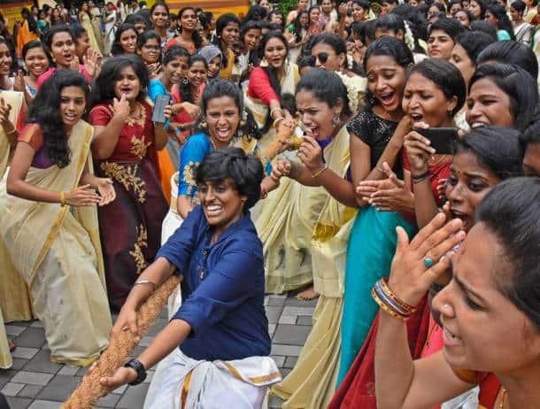 onam, onam festival, onam 2019, kerala, onam rituals, onam pookalam, onam plays, onam dance, onam games, Onakalikal, onam food, kerala festival, onam photos, onam celebration photos, onam images, indian express