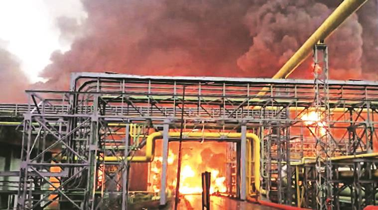 3 CISF men among 4 killed in blaze at ONGC plant