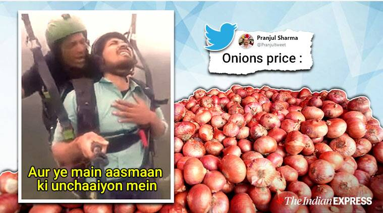 onion, onion prices, onion price crisis, onion produce crisis, onion import, india news, latest news, viral news, indian express