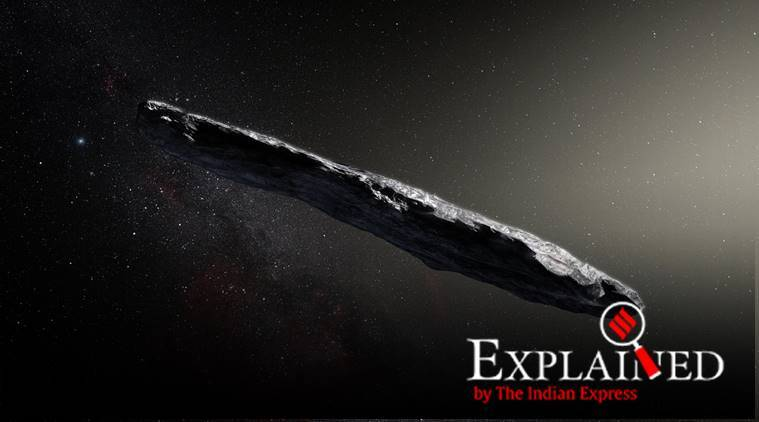 NASA, Oumuamua, interstellar object, solar system, spaceship, spaceship near the Earth, UFO, space news, Indian Express