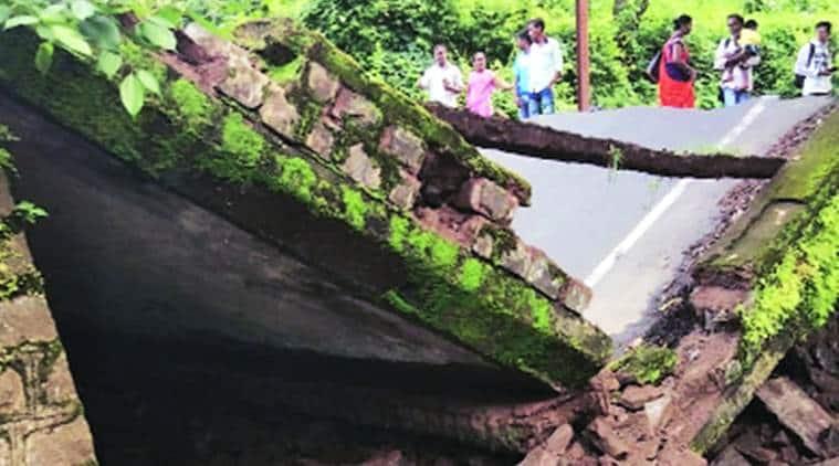 Mumbai city news, Mumbai news, Mumbai Palghar, Palghar bridge collapse, Mumbai rain, indian express news