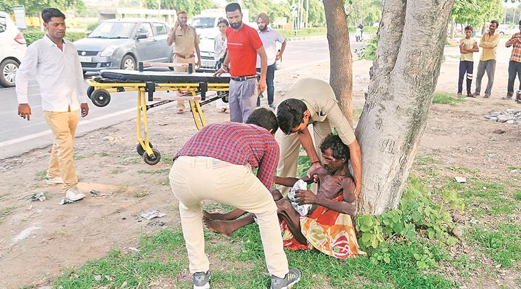 Panchkula, Panchkula news, malnourished man found, woman and child development department, indian express