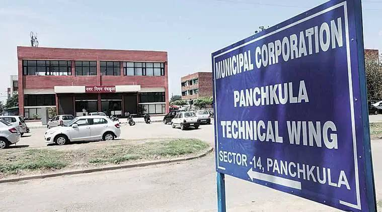Panchkula MC's inaction compels residents to hire trolley, dump horticulture waste