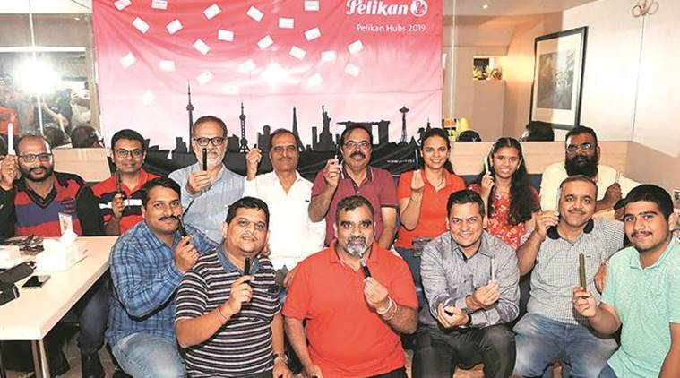 Pune news, Pelikan Hub, pen collectors, Kale pens,